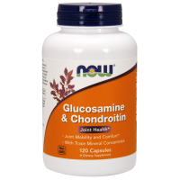 Glukozamina Chondroityna i Mikroelementy (120 kaps.) NOW Foods