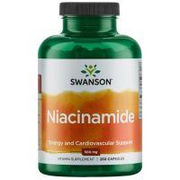 Witamina B3 - Niacyna (Niacinamide) 500 mg (250 kaps.) Swanson