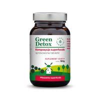 Green Detox - Kompozycja Superfoods (75 tabl.) Aura Herbals