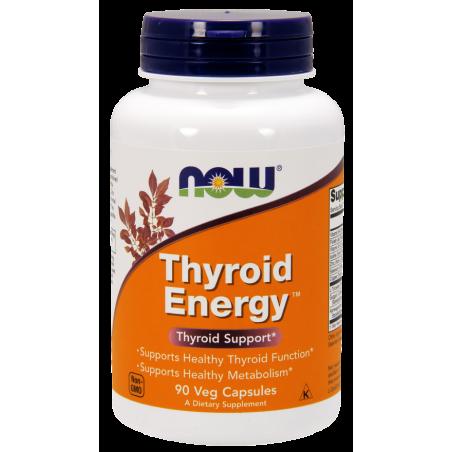 Thyroid Energy - Wsparcie Tarczycy (90 kaps.) NOW Foods
