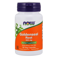 Goldenseal Root - Gorzknik Kanadyjski 500 mg (50 kaps.) NOW Foods