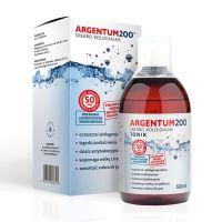 Tonik Argentum200 Srebro Koloidalne 50 ppm (500 ml) Aura Herbals
