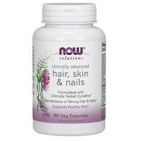Hair, Skin & Nails - Włosy, Skóra i Paznokcie (90 kaps.) NOW Foods