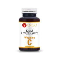 Witamina C 550 mg - 100% Kwas L-Askorbinowy (100 kaps.) Yango