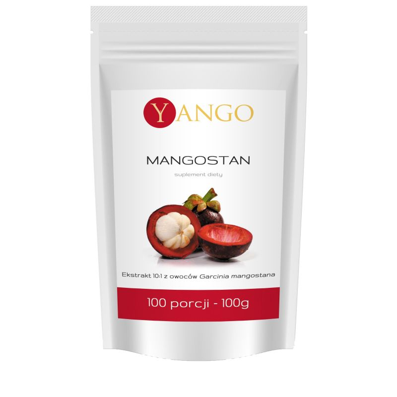 Mangostan - ekstrakt 10:1 (100 g) Yango