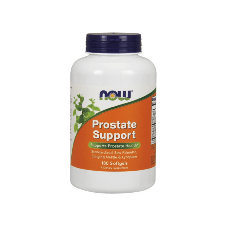 Prostate Support - Wsparcie Prostaty (180 kaps.) NOW Foods
