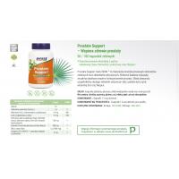 Prostate Support - Wsparcie Prostaty (90 kaps.) NOW Foods