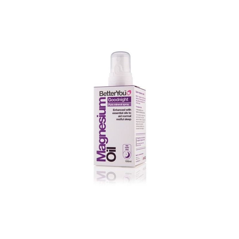 Magnesium Oil Goodnight - Olejek magnezowy na Dobry Sen (100 ml) BetterYou