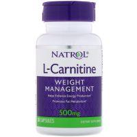 L-Karnityna 500 mg (30 kaps.) Natrol