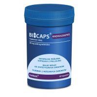 Bicaps Andrographis - 30 mg Andrografolidów z Brodziuszki Wiechowatej (60 kaps.) ForMeds