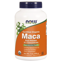 BIO Korzeń Maca ekstrakt 6:1 (198 g) NOW Foods
