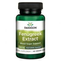 Fenugreek Extract - Kozieradka 300 mg ekstrakt z nasion 50% Fenuzydów (60 kaps.) Swanson