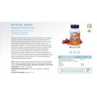 DHA dla dzieci do żucia 100 mg (60 kaps.) Now Foods